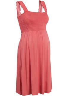 Мода для беременных: трикотажное платье (коралловый) Bonprix