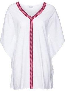 Пляжная футболка (белый) Bonprix
