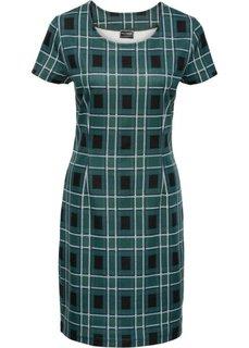 Платье (зеленое стекло/различные расцветки в клетку) Bonprix