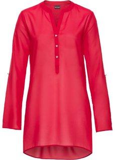 Блузка (красный) Bonprix