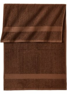 Полотенце для рук Ноа (коричневый) Bonprix