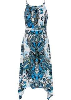 Летнее платье (синий с узором) Bonprix