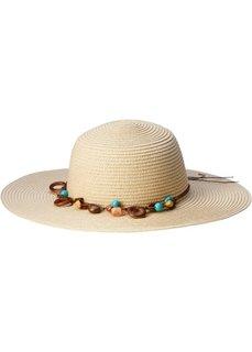 Шляпа с декоративной тесьмой (натуральный) Bonprix