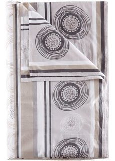 Покрывало Круги (серый) Bonprix