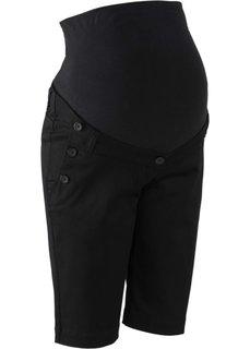 Мода для беременных: шорты (черный) Bonprix