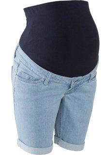 Джинсовые шорты для беременных (голубой) Bonprix
