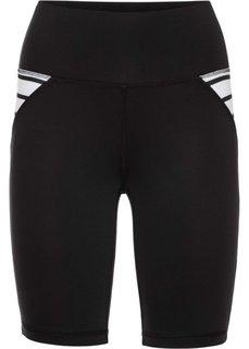 Спортивные шорты (черный) Bonprix