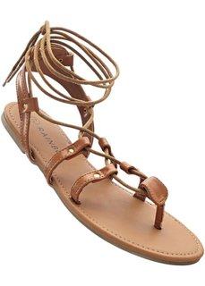 Гладиаторские сандалии (верблюжий) Bonprix