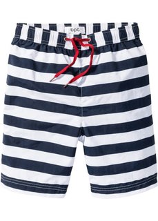 Пляжные шорты (темно-синий/белый в полоску) Bonprix