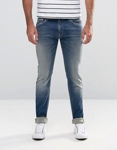 Сверхэластичные джинсы скинни Replay Hyperflex Jondrill - Синий