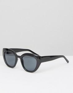 Солнцезащитные очки в массивной оправе AJ Morgan - Черный
