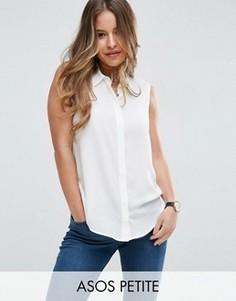 Блузка без рукавов ASOS PETITE - Белый