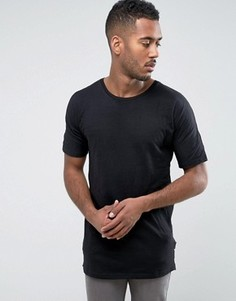 Футболка из фактурной ткани Bellfield - Черный