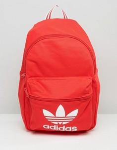 Рюкзак с логотипом-трилистником adidas Originals - Красный
