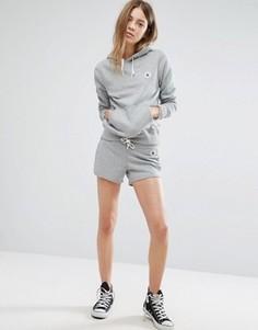 Серые трикотажные шорты Converse - Серый