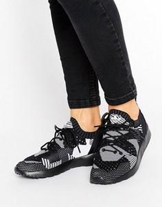Кожаные кроссовки adidas ZX FLUX ADV Virtue Performance - Черный
