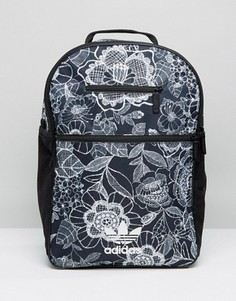Рюкзак с монохромным цветочным принтом adidas Originals - Мульти