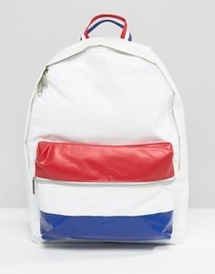 Рюкзак из искусственной кожи Le Coq Sportif - Белый
