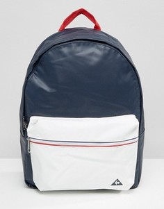Темно-синий рюкзак из искусственной кожи Le Coq Sportif - Синий