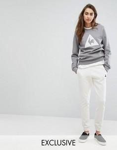 Кремовые спортивные брюки Le Coq Sportif эксклюзивно для ASOS - Кремовый