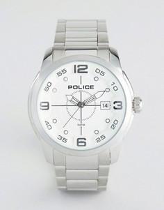 Часы из нержавеющей стали Police Sniper - Серебряный