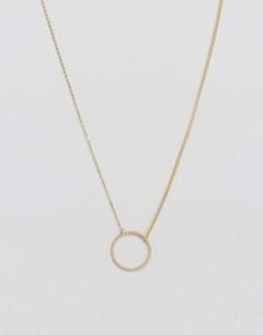 Ожерелье с подвеской Pieces Genia - Золотой