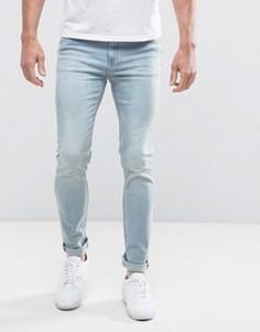 Синие джинсы скинни Cheap Monday - Синий