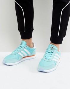 Голубые кроссовки adidas Originals Haven BB1289 - Синий