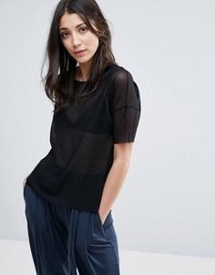 Oversize-футболка Y.A.S - Черный