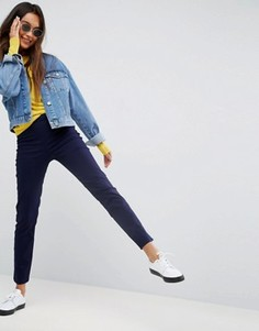 Зауженные брюки-сигареты в стиле casual ASOS - Мульти