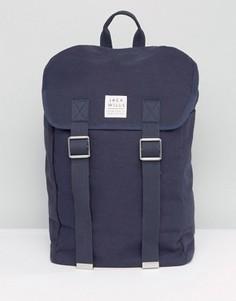 Темно-синий рюкзак с клапаном и пряжками спереди Jack Wills - Темно-синий