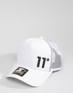 Белая бейсболка 11 Degrees - Белый