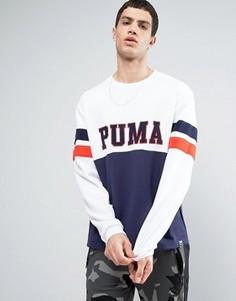 Белый винтажный свитшот Puma - Белый