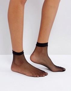 Сетчатые носки Leg Avenue - Черный