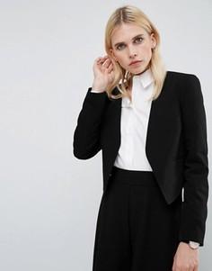 Укороченный блейзер ASOS Tailored - Черный