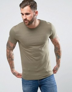 Жаккардовая футболка Bellfield - Зеленый