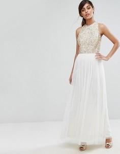Платье с пайетками Coast Ru - Золотой