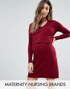 Платье Isabella Oliver Webber - Красный