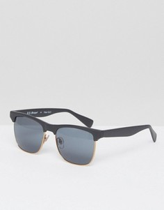 Черные солнцезащитные очки в стиле ретро A J Morgan - Черный