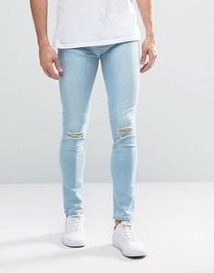 Синие рваные джинсы Waven Wave - Синий