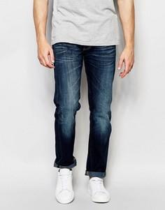 Темные джинсы в винтажном стиле Lee 101 - Синий