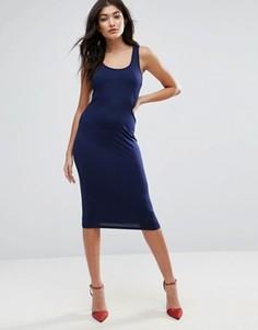 Облегающее платье Jasmine - Темно-синий