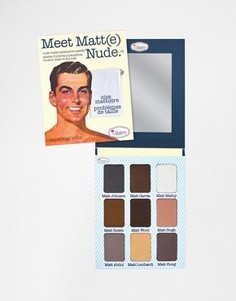 Тени theBalm Meet Matte Nude - Мульти