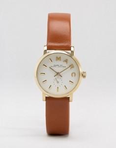 Часы с коричневым кожаным ремешком Marc Jacobs Baker MBM1317 - Коричневый