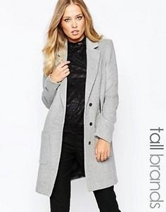 Пальто Y.A.S Tall Monday - Серый