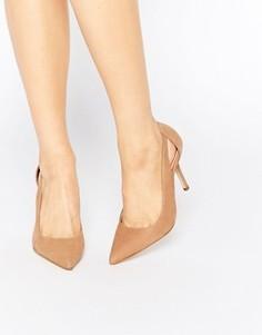Туфли-лодочки на каблуке с завязкой сзади ALDO Nalidda Cognac - Рыжий