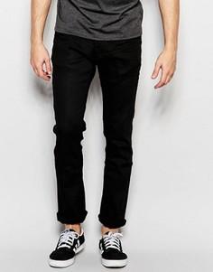 Черные джинсы слим Jack & Jones - Синий
