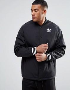 Куртка с отделкой adidas Originals AY9132 Superstar - Черный
