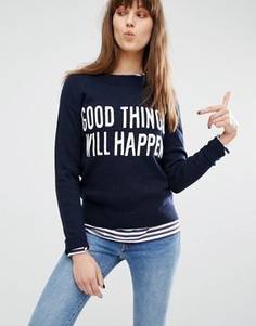 Джемпер с надписью Good Things Will Happen Levis - Синий Levis®