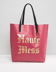 Сумка-тоут Juicy Couture Haute Mess - Красный